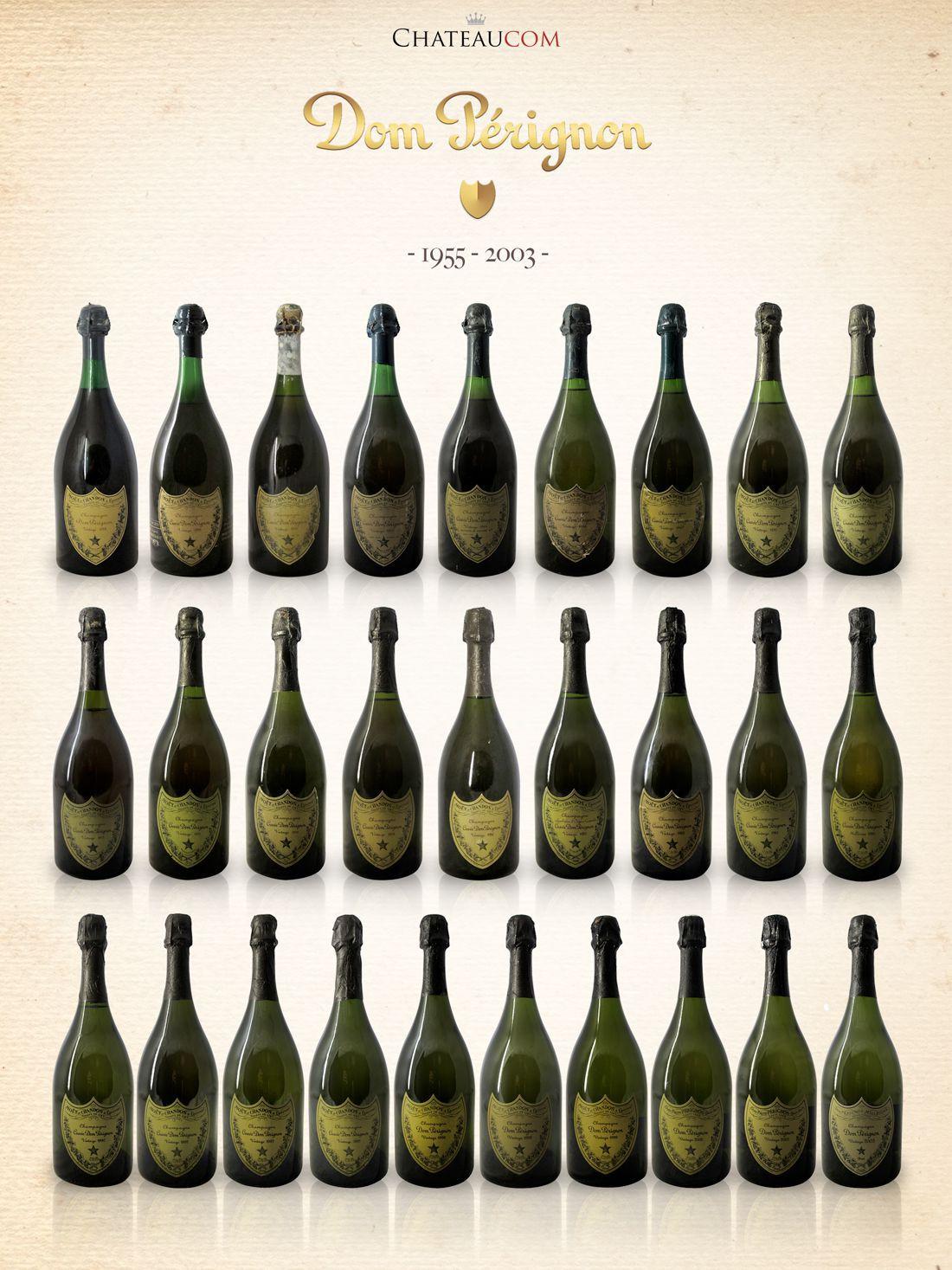 Collection Dom Pérignon 1955-2003