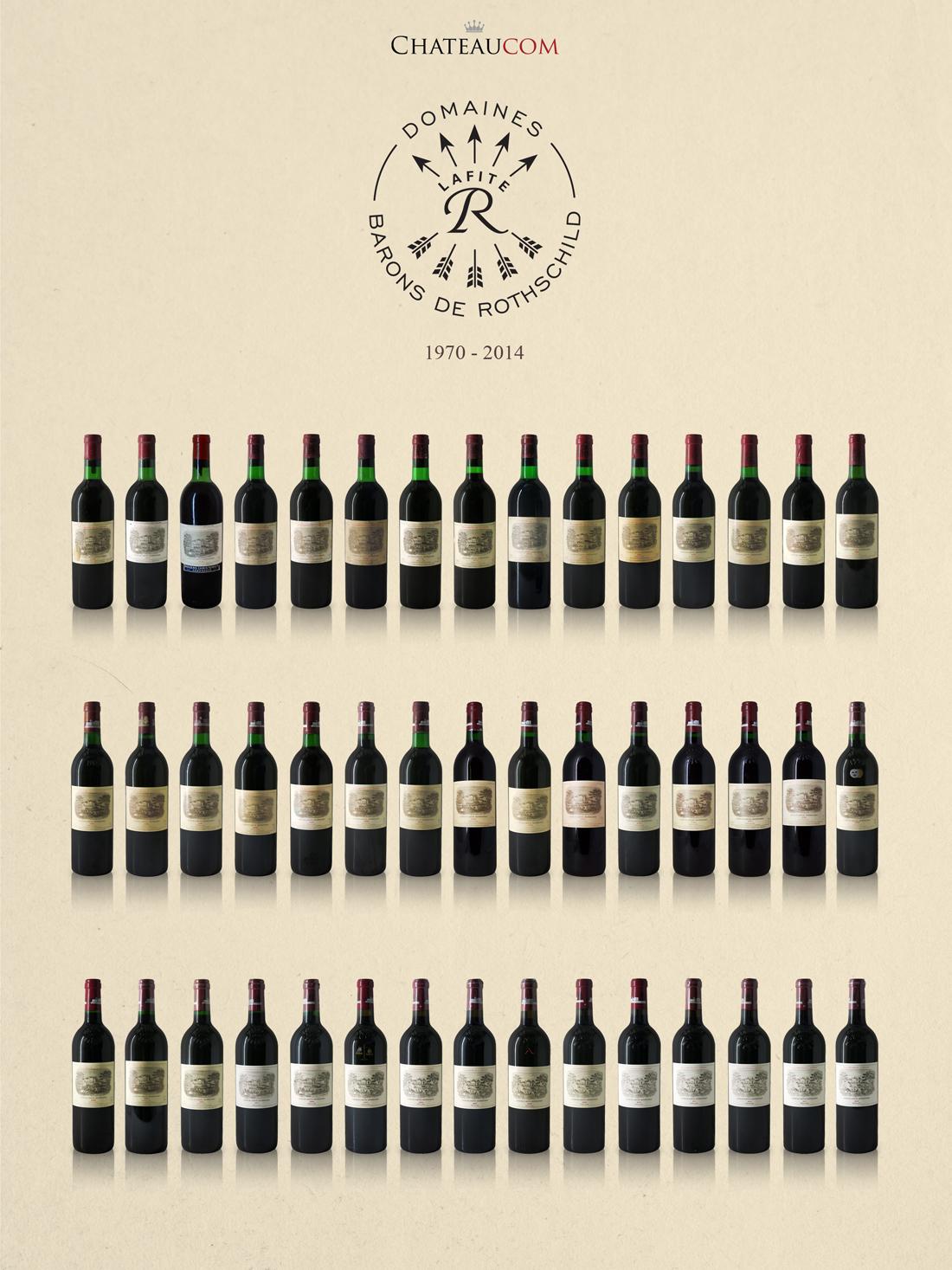 Collection Château Lafite Rothschild 1970-2014