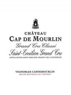 Château Cap de Mourlin 2015 Caisse bois d'origine de 6 bouteilles (6x75cl)