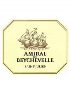 Amiral de Beychevelle 2000 12 bouteilles (12x75cl)
