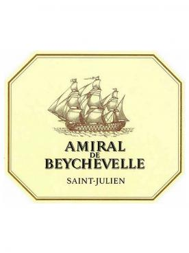 Amiral de Beychevelle 2017 Caisse bois d'origine de 6 bouteilles (6x75cl)
