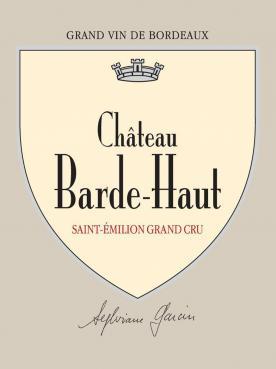 Château Barde-Haut 2017 Caisse bois d'origine de 6 bouteilles (6x75cl)