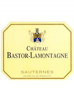 Château Bastor Lamontagne 2001 Caisse bois d'origine de 12 bouteilles (12x75cl)