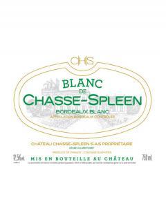 Blanc de Chasse-Spleen 2015 Caisse bois d'origine de 12 bouteilles (12x75cl)