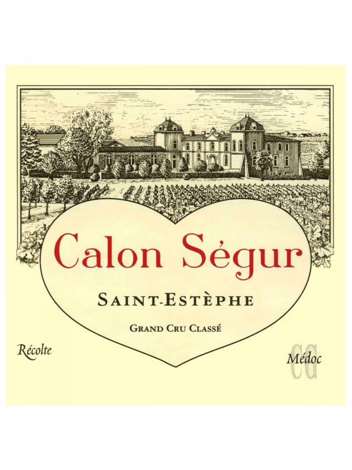 Château Calon-Ségur 1986 Bouteille (75cl)