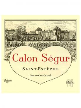 Château Calon-Ségur 2016 Caisse bois d'origine de 12 bouteilles (12x75cl)