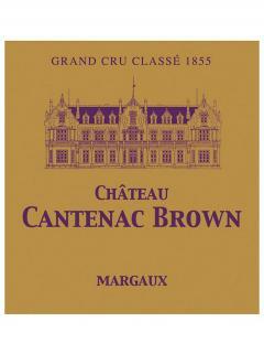Château Cantenac Brown 2006 Caisse bois d'origine de 12 bouteilles (12x75cl)