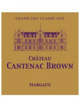 Château Cantenac Brown 2015 Caisse bois d'origine de 12 bouteilles (12x75cl)