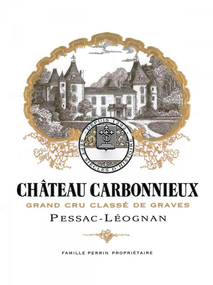 Château Carbonnieux 2014 Caisse bois d'origine de 12 bouteilles (12x75cl)