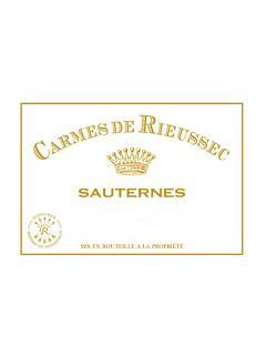 Carmes de Rieussec 2012 Caisse bois d'origine de 12 bouteilles (12x75cl)