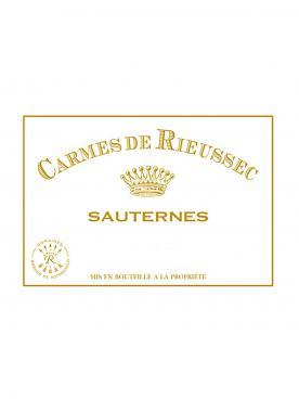 Carmes de Rieussec 2009 6 bouteilles (6x75cl)
