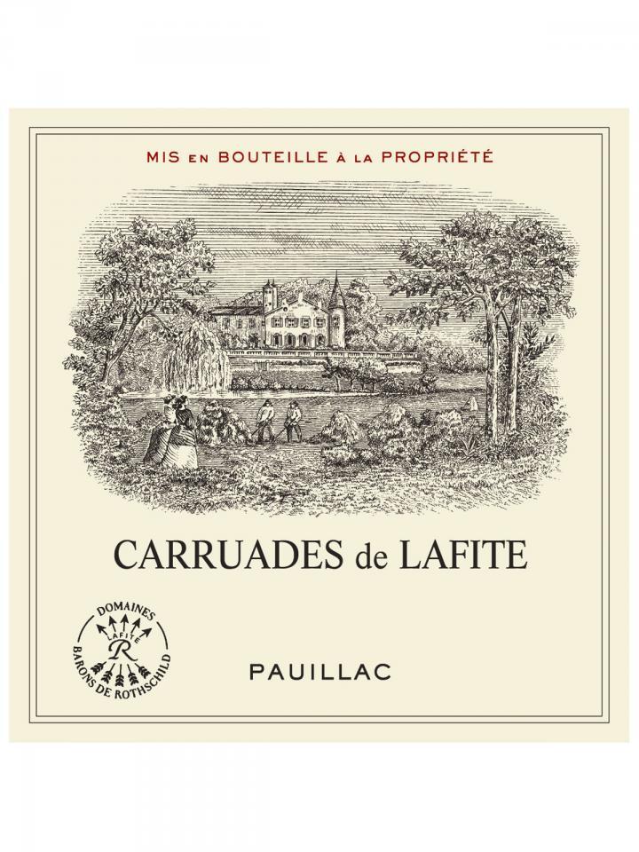 Carruades de Lafite 2006 Caisse bois d'origine de 6 bouteilles (6x75cl)