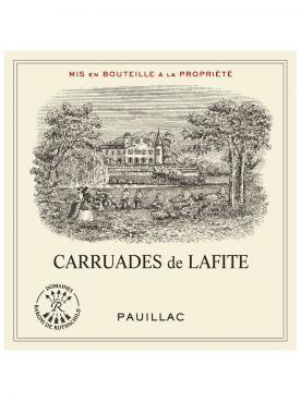 Carruades de Lafite 2017 Caisse bois d'origine de 6 bouteilles (6x75cl)