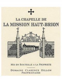 La Chapelle de la Mission Haut-Brion 2011 Caisse bois d'origine de 12 bouteilles (12x75cl)
