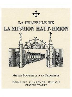 La Chapelle de la Mission Haut-Brion 2015 Caisse bois d'origine de 12 bouteilles (12x75cl)