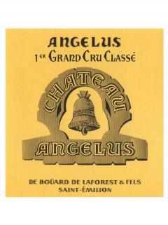 Château Angélus 2014 Caisse bois d'origine de 6 bouteilles (6x75cl)