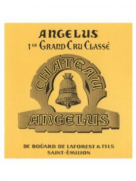 Château Angélus 2013 Caisse bois d'origine de 6 bouteilles (6x75cl)