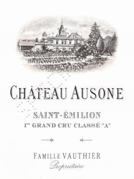 Château Ausone 2009 Caisse bois d'origine de 12 bouteilles (12x75cl)