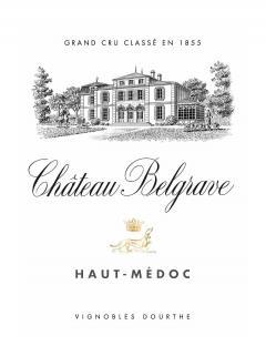 Château Belgrave 2013 Caisse bois d'origine de 6 bouteilles (6x75cl)