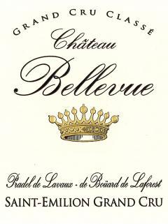 Château Bellevue (Saint-Emilion) 2015 Caisse bois d'origine de 6 bouteilles (6x75cl)