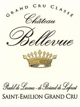 Château Bellevue (Saint-Emilion) 2018 Caisse bois d'origine de 12 bouteilles (12x75cl)