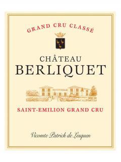 Château Berliquet 2018 Caisse bois d'origine de 6 bouteilles (6x75cl)