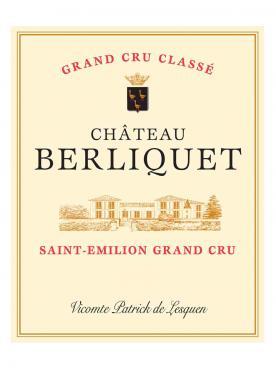 Château Berliquet 2004 Caisse bois d'origine de 12 bouteilles (12x75cl)