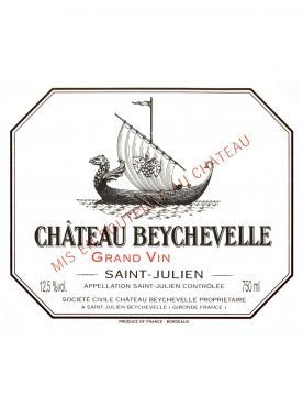 Château Beychevelle 1989 Caisse bois d'origine de 12 bouteilles (12x75cl)