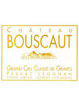 Château Bouscaut 2009 Caisse bois d'origine de 12 bouteilles (12x75cl)