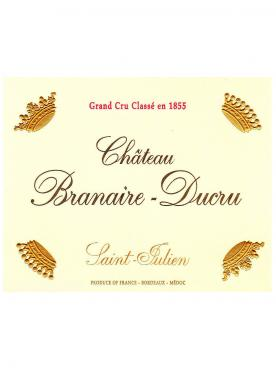 Château Branaire-Ducru 2016 Caisse bois d'origine de 12 bouteilles (12x75cl)