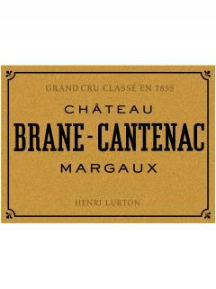 Château Brane-Cantenac 2003 Caisse bois d'origine de 12 bouteilles (12x75cl)