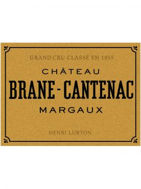 Château Brane-Cantenac 2009 Caisse bois d'origine de 6 bouteilles (6x75cl)