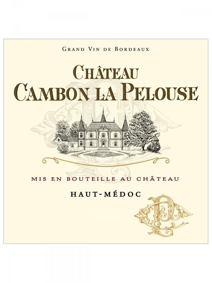 Château Cambon La Pelouse 2014 Caisse bois d'origine de 6 magnums (6x150cl)