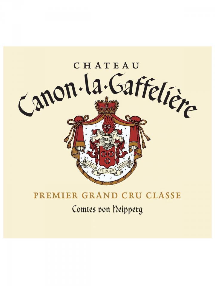 Château Canon-La-Gaffelière 1999 Caisse bois d'origine de 12 bouteilles (12x75cl)