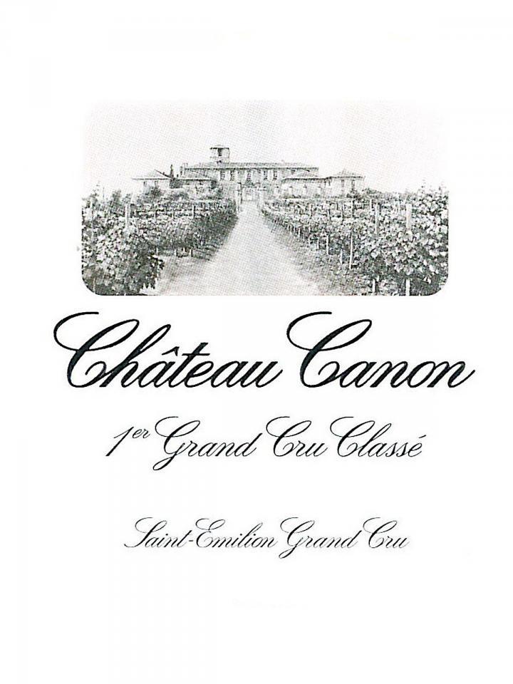 Château Canon 1975 Caisse bois d'origine de 12 bouteilles (12x75cl)