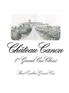 Château Canon 2014 Caisse bois d'origine de 12 bouteilles (12x75cl)