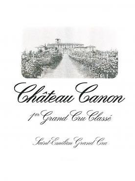 Château Canon 2000 Caisse bois d'origine de 6 bouteilles (6x75cl)