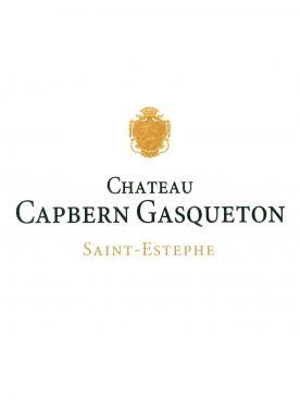 Château Capbern-Gasqueton 2008 Caisse bois d'origine de 6 bouteilles (6x75cl)