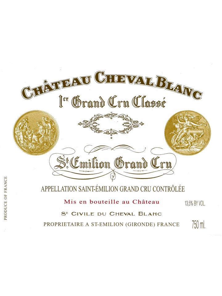Château Cheval Blanc 2004 Caisse bois d'origine de 12 bouteilles (12x75cl)