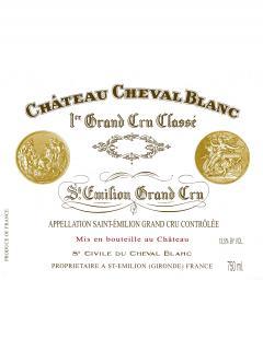 Château Cheval Blanc 2018 Caisse bois d'origine de 6 bouteilles (6x75cl)