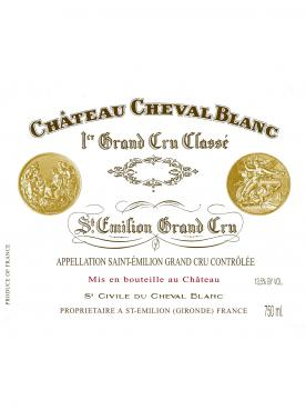 Château Cheval Blanc 1982 Caisse bois d'origine de 6 bouteilles (6x75cl)