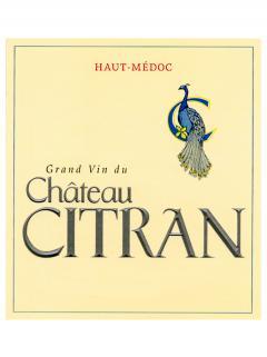 Château Citran 1995 12 bouteilles (12x75cl)