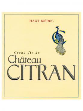 Château Citran 2018 Caisse bois d'origine de 6 bouteilles (6x75cl)