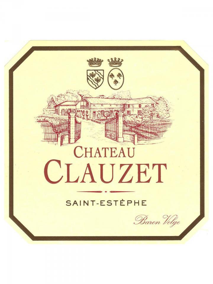 Château Clauzet 2013 Caisse bois d'origine de 12 bouteilles (12x75cl)