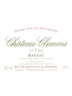 Château Climens 2006 Caisse bois d'origine de 6 bouteilles (6x75cl)