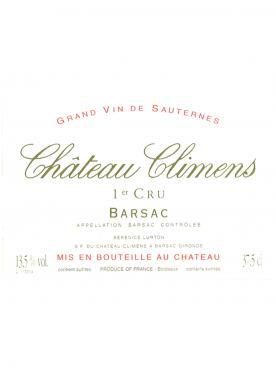 Château Climens 2009 Caisse bois d'origine de 6 bouteilles (6x75cl)