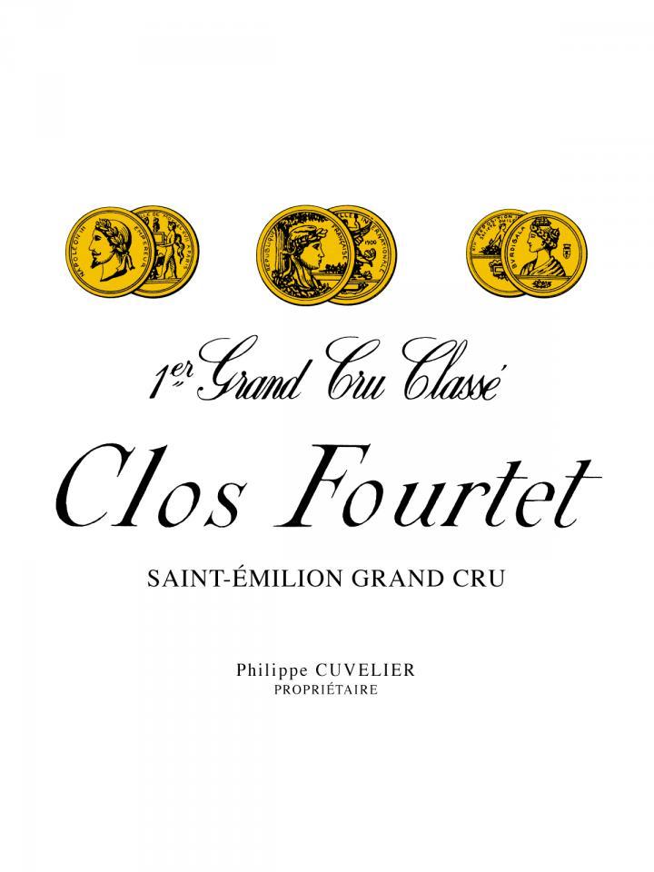 Clos Fourtet  2009 Caisse bois d'origine de 12 bouteilles (12x75cl)