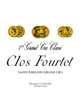 Clos Fourtet  1995 Caisse bois d'origine de 12 bouteilles (12x75cl)