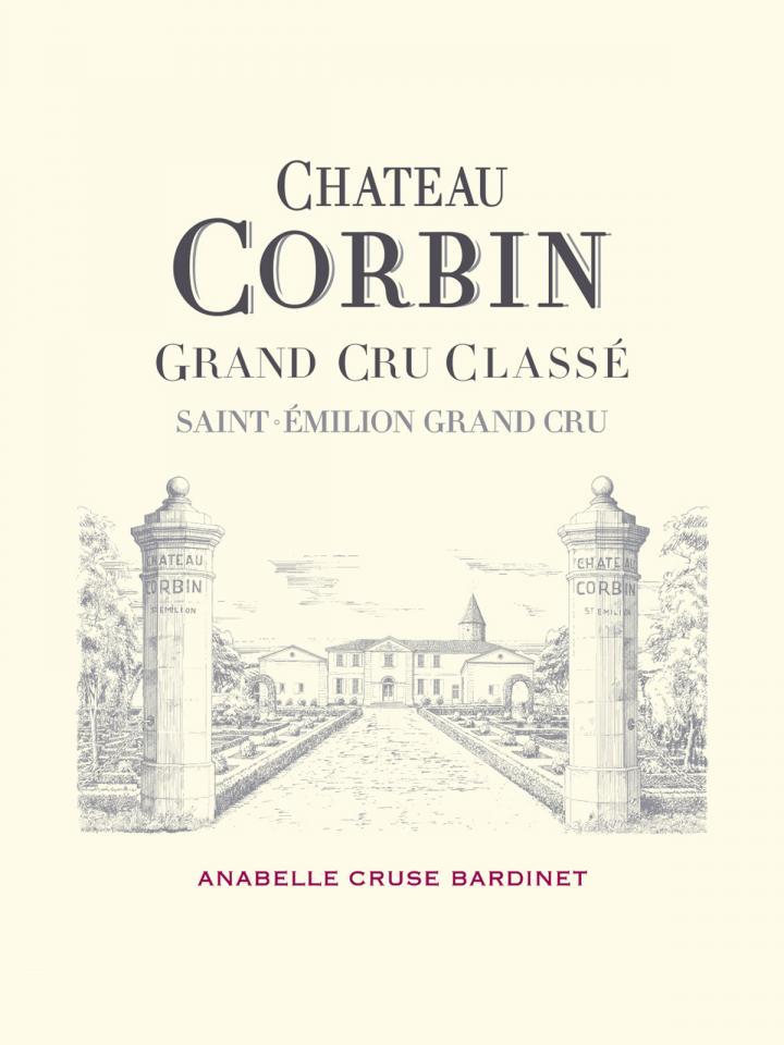 Château Corbin 2013 Caisse bois d'origine d'une bouteille (1x75cl)