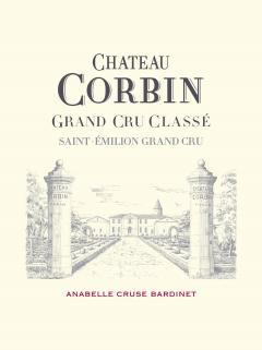 Château Corbin 2013 Caisse bois d'origine de 12 bouteilles (12x75cl)